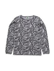 T-shirt LS. Snake - GREY MIX