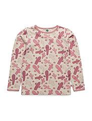 T-shirt LS. Cactus - MESA ROSE