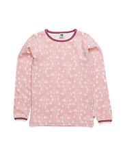 T-shirt LS. Flowers - BRIDAL ROSE