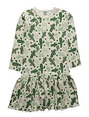 Dress LS. + skirt. Cactus - ELM GREEN