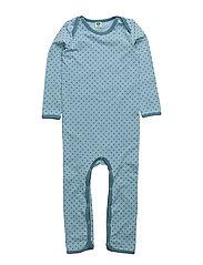 Body Suit. Micro Apples - STONE BLUE