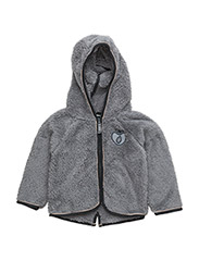 Baby Fleece with hood & zipper - WILDE DOVE