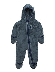 Baby Fleece Suit - BLUESTONE