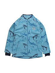 Spring Jacket. Sharks - AIR BLUE