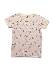 T-shirt with iceCreams - MAUVE