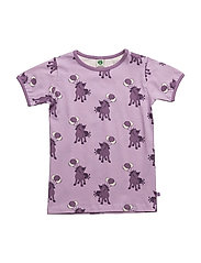 T-shirt with horse - LAVENDER