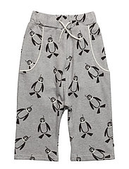 Shorts with pinguin - GREY MIX