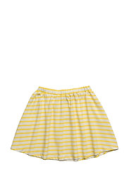 Skirt with stripes - MAIZE
