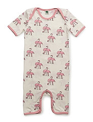 Body suit with flamingos - BRIDAL ROSE