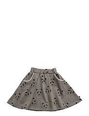Skirt. Sweat, Glitter - M. GREY MIX
