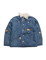 Jacket Denim, Padded - M. BLUE