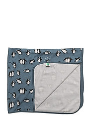 Baby Blanket WoolMix - BLUESTONE