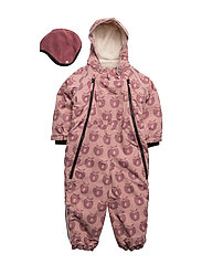 Snowsuit, 2 zipper - BRIDAL ROSE