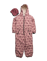 Snowsuit, 1 zipper - BRIDAL ROSE