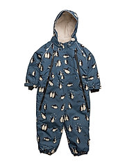 Snowsuit, 2 zipper - BLUESTONE