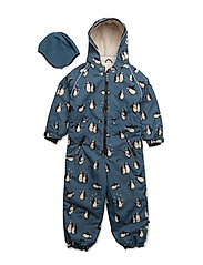 Snowsuit, 1 zipper - BLUESTONE