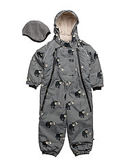 Snowsuit, 2 zipper - WILDE DOVE