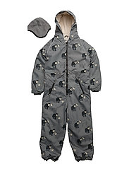 Snowsuit, 1 zipper - WILDE DOVE