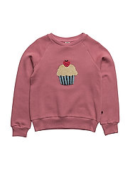 Sweatshirt with cupcake - MESA ROSE