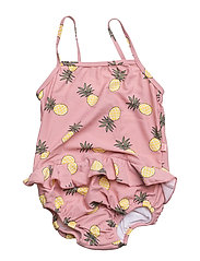 Baby Swimsuit with pineapple - BRIDAL ROSE