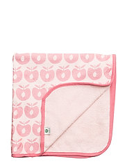 Baby Towels - Silver Pink