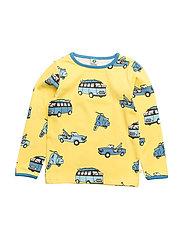T-shirt Longsleeve - Maize