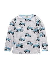 T-shirt Longsleeve - Lt. Grey Mix