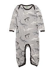 Body Suit. Shark - GREY MIX