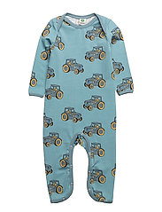 Body Suit. Tractor - STONE BLUE