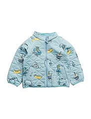 Thermo jacket. Girl - Stone Blue