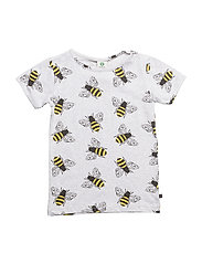 T-shirt SS. Bees - LT. GREY MIX