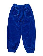 Velour Pants - Blue