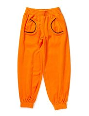 Velour Pants - Orange