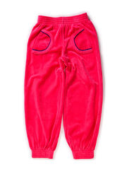 Velour Pants - Pink/Purple011