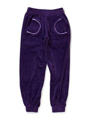 Velour Pants - Purple
