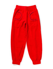 Velour Pants - Red