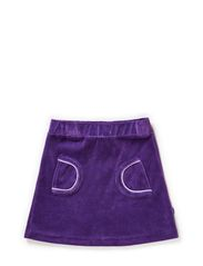 Skirt. Velvet - Purple