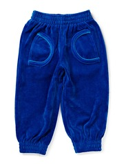 Pants Baby Velour - Blue