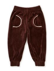 Pants Baby Velour - Brown