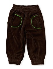 Pants Baby Velour - D. Brown