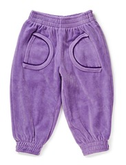 Pants Baby Velour - M. Purple