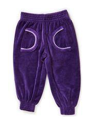 Pants Baby Velour - Purple