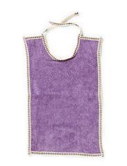 Bib, Large - M. Purple