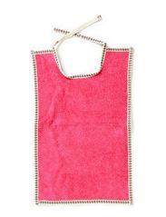 Bib, Large - Pink