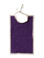 Bib, Large - Purple