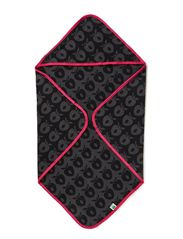 Baby Towels - Black/Grey/Pink