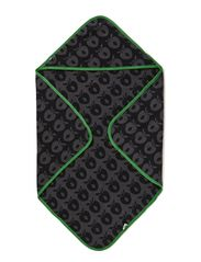 Baby Towels - Black/Grey/Apple Green