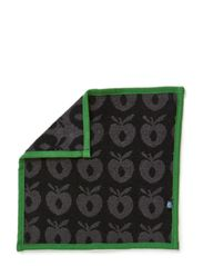 Towels 30x30 - Black/Grey/Apple Green