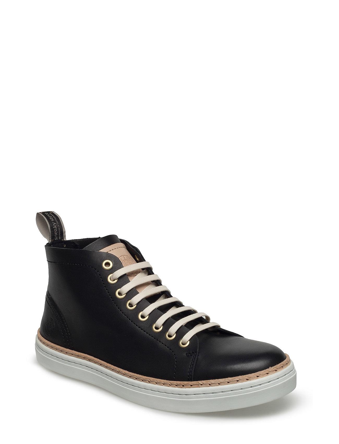 Silvermine High Sneaky Steve Sneakers til Herrer i Sort
