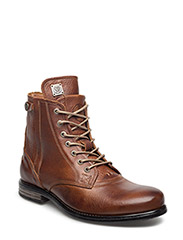 Kingdom Leather Shoe - COGNAC